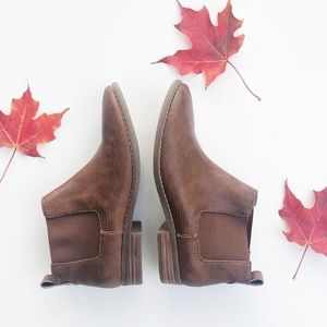 American Eagle brown ankle booties